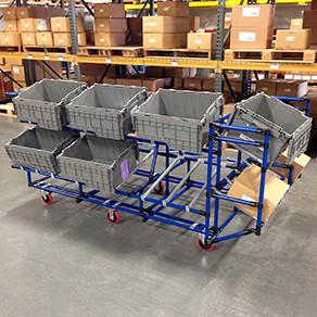 Carts Creform Corporation Picking Carts Warehouse